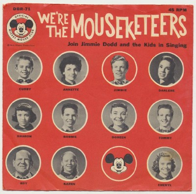 We're The Mouseketeers Mickey Mouse Club EP W/Picture Sleeve