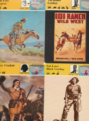 1979-81 Western History Photo & Painting Card Set - 53 Pieces