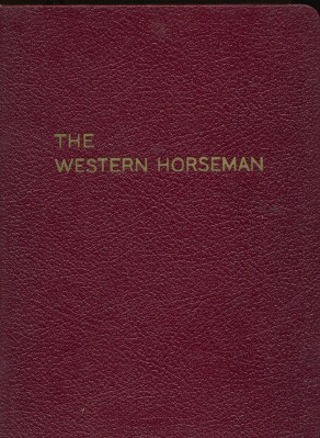 1953 Western Horseman - Entire Year In A Bound Volume