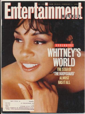 Feb 5 1993 Entertainment Weekly - Whitney Houston Cover
