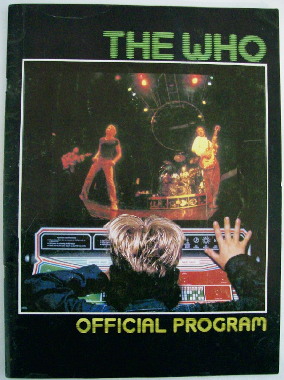 The Who - 1982 Schlitz Tour Official Program