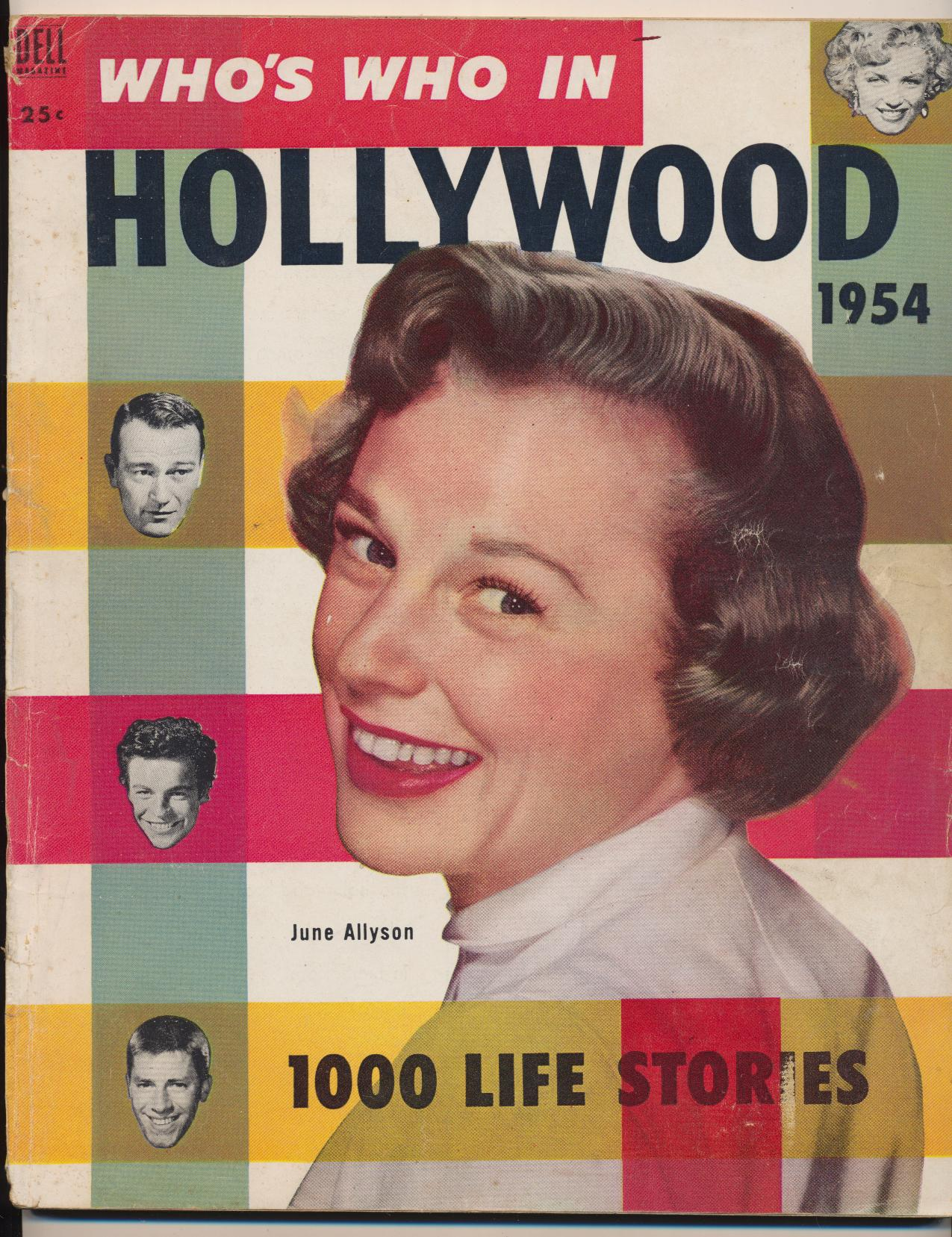 1954 Who's Who In Hollywood
