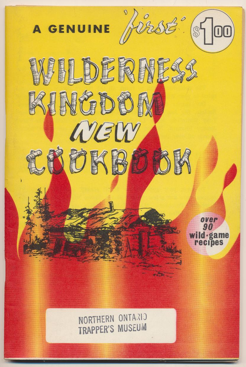 1972 Wild Game Cookbook