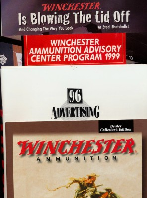 1996 & 1999 Winchester Press Kit Material