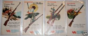 1972 Winchester Shotgun & Rifle Advertising Brochures - Lot Of 4
