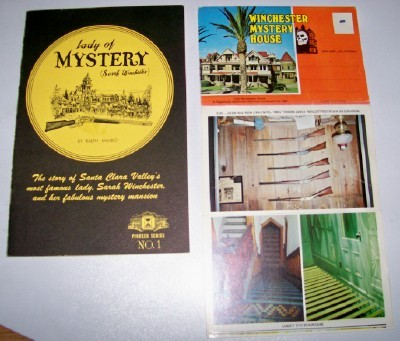Winchester Mystery House 2 Pc Lot - PC Folder & Book