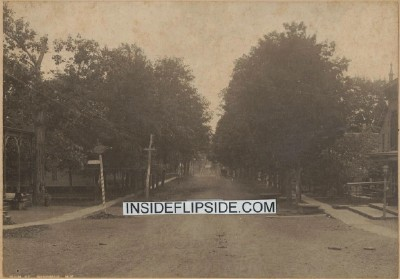 Vintage Photo Main St Windham NY Horsedrawn Carriage Barber Shop