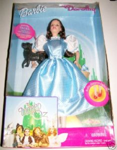 Rare Barbie Dorothy Wizard Of Oz Doll NIB - Talks & Lights