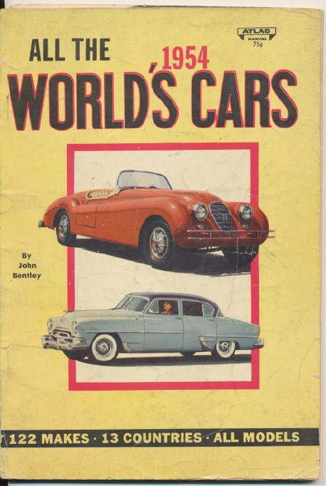 Photo Album Of The World's 1954 Cars - 122 Makes & 13 Countries