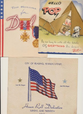 Vintage World War II Homefront & Correspondence Lot