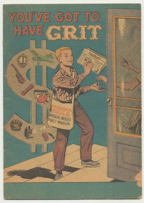 1959 Grit Advertising Comic Book